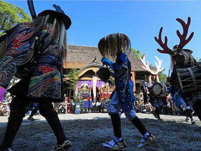 国宝 青井阿蘇神社 秋季例大祭 おくんち祭り