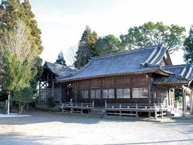 深田大王神社(深田阿蘇神社)