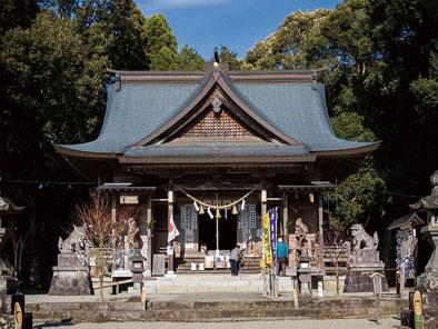 市房山神宮 里宮神社(紅葉)