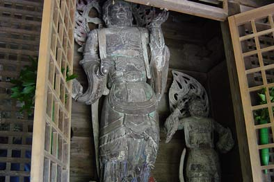 勝福寺毘沙門道