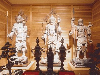 高寺院(木造毘沙門天立像)