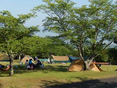 あさぎり町ビハ公園キャンプ場